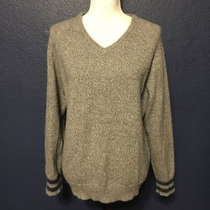 LUCKY BRAND Wool and Alpaca Blend Chunky Sweater